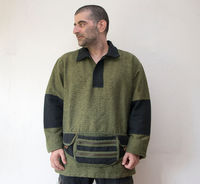 """Mens Winter Cotton Pullower ( L size) �€"""" Knitted Jacket with cotton lining $65.00"""
