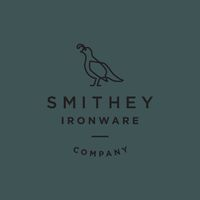 Logo, print and packaging by American design studio Stitch for Charleston-based ironware business Smithey. Opinion by Richard Baird.