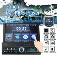 7 Inch 1 DIN Car Stereo Radio Touch Screen MP5 Player Bluetooth FM USB AUX In Dash