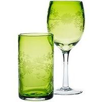 I've started collecting glasses in random colors... these would be a sweet addition!