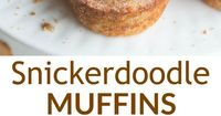 My favorite cookie--in MUFFIN form! These snickerdoodle muffins are soft and tender with a cinnamon sugar topping that will keep you coming back for more. | Tastes Better From Scratch