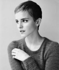 Emma Watson | Loved her pixie cut which is saying something because I don't usually like short hair