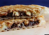 Peanut butter, banana and chocolate panini recipe