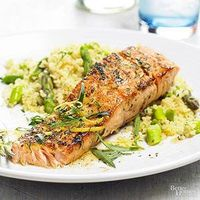 Herbed Salmon - a great weeknight or weekend dinner idea! (seafood, fish recipes)