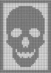 Image result for crochet skull
