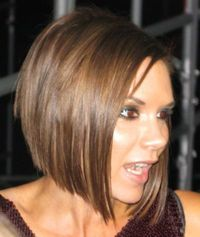 layered bob hairstyles | Celebrity Hairstyle: victoria beckham layered haircuts.