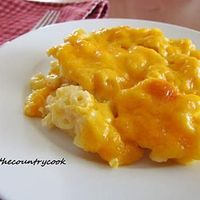 Homemade Macaroni and Cheese. This recipe was great! We had a small issue with it not thinckening liek we needed to while it was baking. It was delicious. the important thing to remember with this recipe is to let the mac and cheese actually sit after rem...
