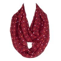 Dot&Stripe Printing Ring Scarf for Women $14.22
