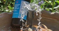 The best fountain secret in the world . . . who knew Hydrogen Peroxide was an awesome fountain cleaner all this time? And almost magic in the way it works. I have seen it clear a green and murky fountain to crystal clear water in 24 hours. It does not hur...