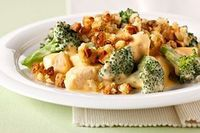 chicken broccoli bake, chicken broccoli and cheesy chicken.