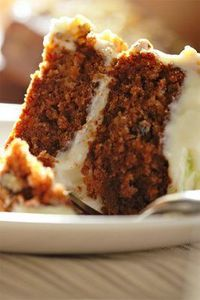 amazing carrot cake / heard rave reviews on this one.