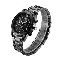 Fashion Men Stainless Steel Band Analog Quartz Movement Wrist Watch $12.99