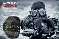 NORTH EDGE AK 1.46' FSTN Screen 100M Waterproof 33-Months Using Time Message Reminder Camera Control Outdoor Smart bluetooth Watch