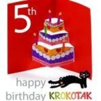 Happy Birthday KROKOTAK!