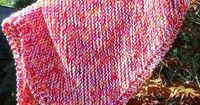 Suzies Stuff: Dishcloth Baby Blanket