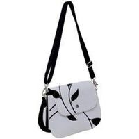black floral saddle bag $35.00