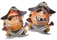 Chocolate Trading Co Chocolate pirates - Bag of 10 Milk chocolate pirates, individually foil wrapped with printed card base. These novelty chocolate pirates are ideal for childrens parties and themed events/promotions. http://www.comparestoreprices.co.uk/...