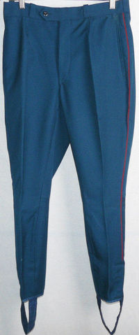 Breeches Parade Galliffet Vintage Soviet Army Officer Uniform Pants Galife Trousers USSR $27.00