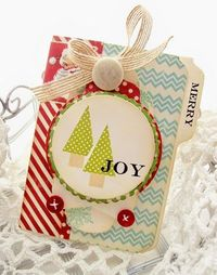 Creative Paper Trail: Christmas tag