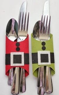 Place setting for kid's Christmas table   Awesome pictures - Pinterest is Cool