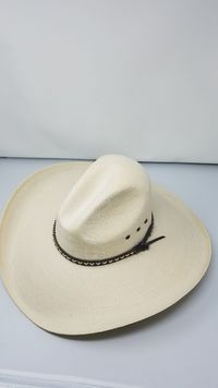 Tom Mix Old West Natural Western Hat with Gus Crown Item 114PLOWN $59.49