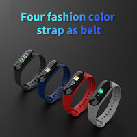 "XANES M3B 0.96"" TFT Color Screen IP67 Waterproof Smart Bracelet Pedometer Heart Rate Blood Pressure Sleep Monitor Fitness Smart Watch"