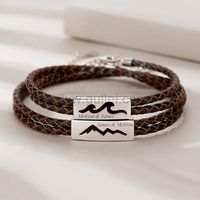 Sea and Mountain Matching Relationship Bracelets Set https://www.gullei.com/sea-and-mountain-matching-relationship-bracelets-set.html