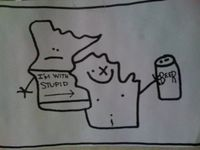 Ha! No offense to Wisconsinites. This cracked me up.