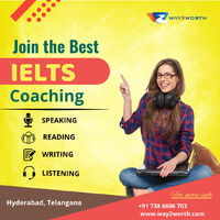 """""""Way2Worth gives you the best IELTS coaching institute in Hyderabad. The International English Language Test (IELTS) is the standardized exam that determines your proficiency in the English language. It is one of the leading assessments that ..."""