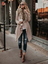 Long Oversize Loose Knitted Cardigan Outwear Coat $39.99