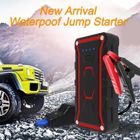 CHIC Portable Car Jump Starter 12V 13000mAh Emergency Battery Booster Pack Waterproof with QC 3.0 LED FlashLight