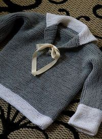 Childs Middy Jumper | AllFreeKnitting.com