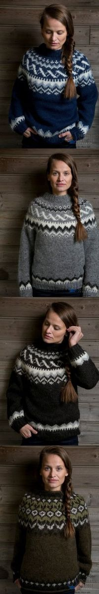 Which Icelandic sweater might work for you this winter?
