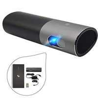 Wanbo P5 Mini Portable WiFi Bluetooth DLP Projector Android 4.4 Home Theatre 3D Full HD DLP Video