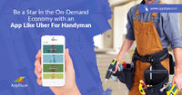 Uber for Handyman services.jpg  If you want to develop an app for Handyman services, then AppDupe is your destination. With cutting-edge features like multiple payment methods and live-geo-tracking, you can quickly rise to fame. Contact AppDupe for an i...
