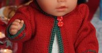 A free christmas doll knitting pattern to our subscribers