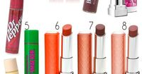 The Best Drugstore Lippies! Lipsticks, lipstains and lip balms that you need! via