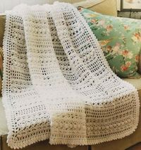 Contemporary Cottage Afghans - Crochet Patterns