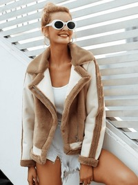 New Fashion Coffee Fur Coat $69.00
