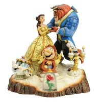 Amazon.com - Enesco Disney Traditions by Jim Shore Beauty and the Beast Figurine, 7.75-Inch - Collectible Figurines