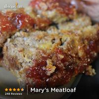 Mary's Meatloaf | It's the sweet, tangy topping that makes Mary's meatloaf recipe so special.