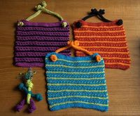CatKnitz: Free Pattern: Button Knot Bib or Wash Cloth and Softie Toy? You Decide!!