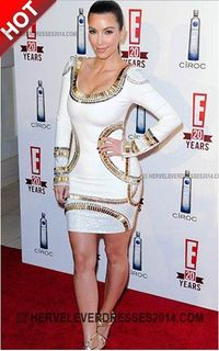 f449043a32f Cheap Herve Leger Kim Kardashian Long Sleeve Sequin Bandage Dress Gold