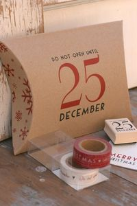 Christmas Gift Wrapping Ideas - For those Christmas gifts you have to mail.