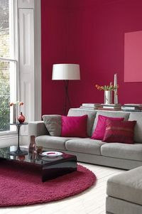 Elegant interior decoration ideas using the red color for a contemporary and dynamic ambiance in rooms like the kitchen, living room, or the hallway. More