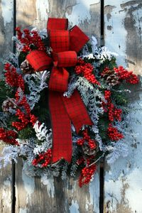 When was the last time you made a Winterberry Christmas Wreath? This handmade Christmas decoration will look absolutely lovely on your door.
