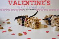 Homemade Milk & Cereal Bars