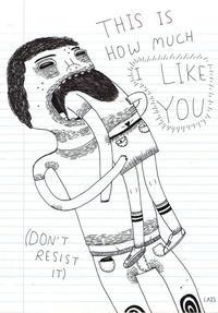 This is how much I like you. (Don't resist it)
