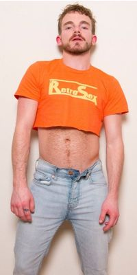 Male crop top