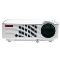 LED-33+02 WIFI LCD Home Theater Projector LED Projector 2000 lm Android 4.4 Support 1080P